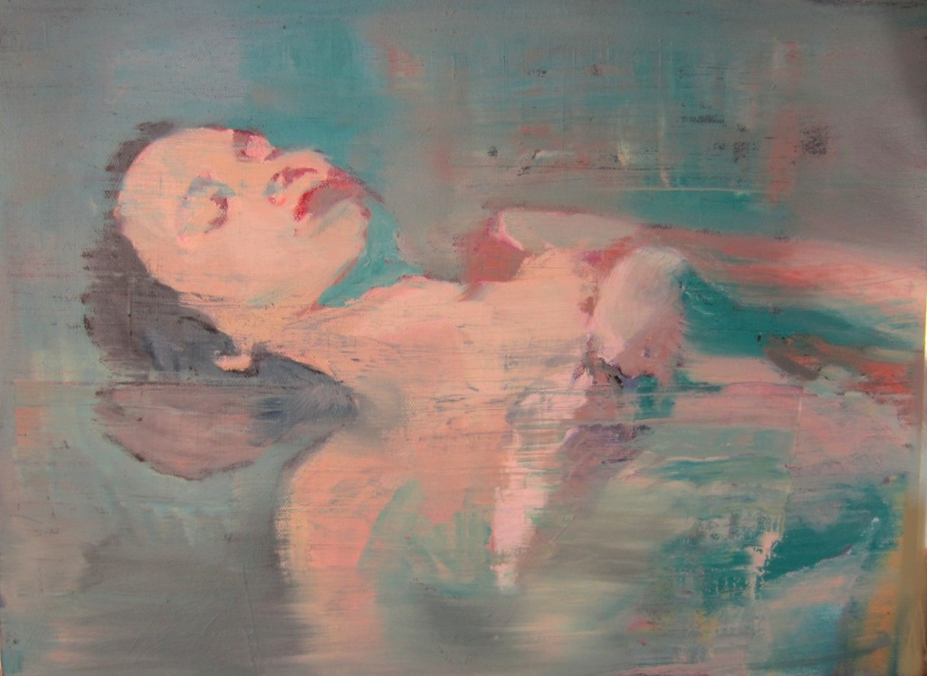 P.Jennings Dreaming America, u00D6l auf Leinwand, 30x40, 2014